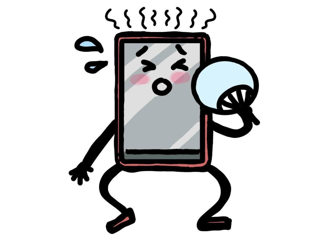 iPhone スマホ 熱