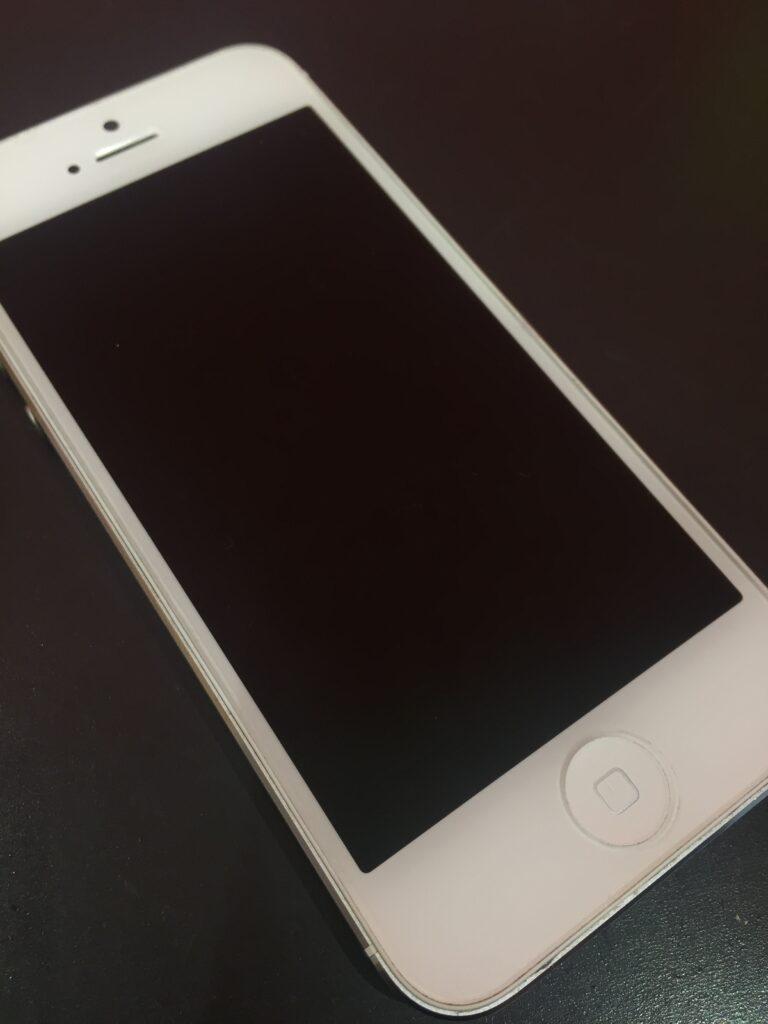 iPhone5の電源不良